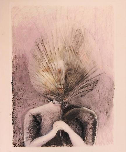 Grief - Pencil and Pastel